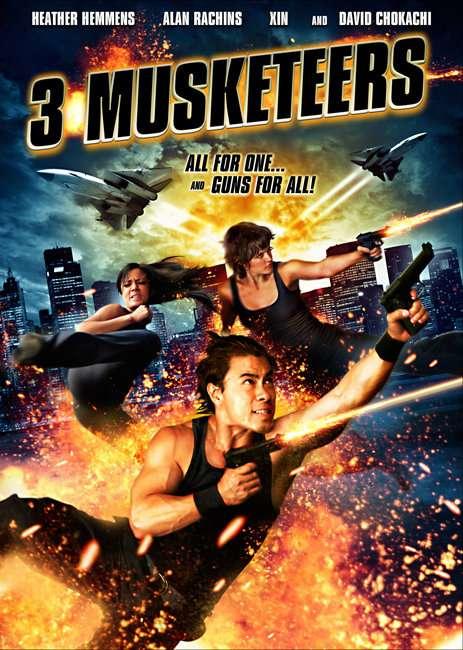3 Musketeers kapak