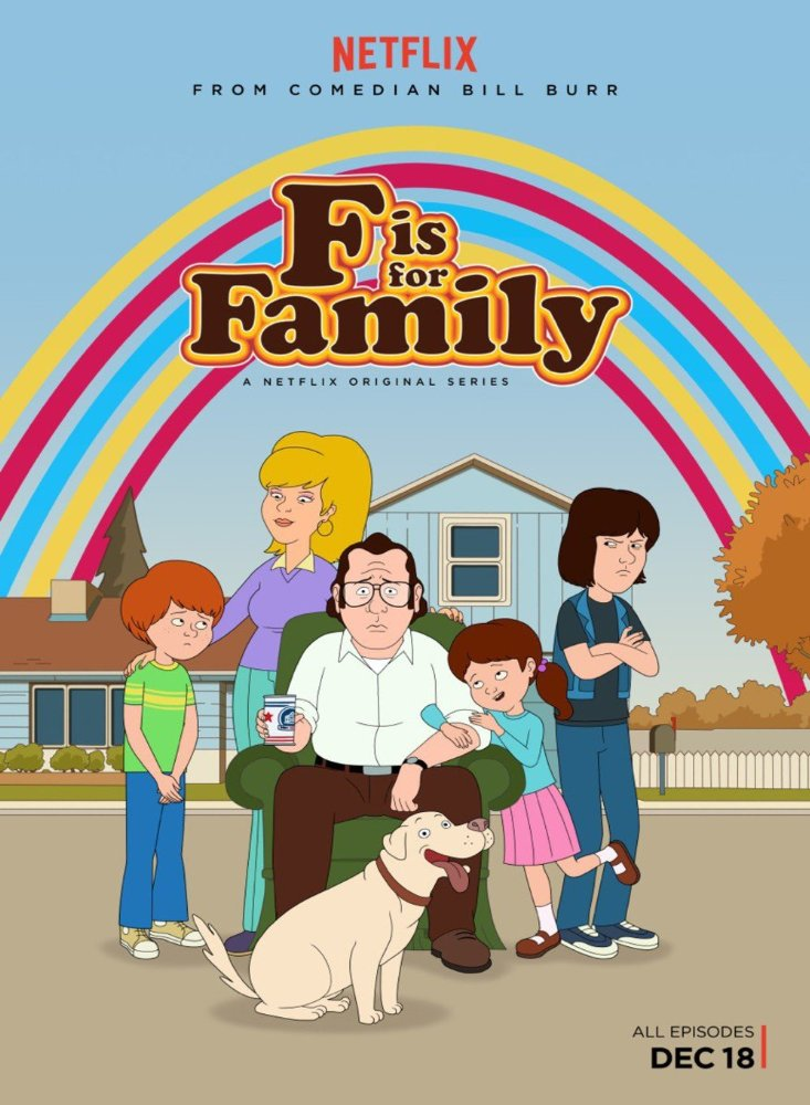 F Is for Family kapak