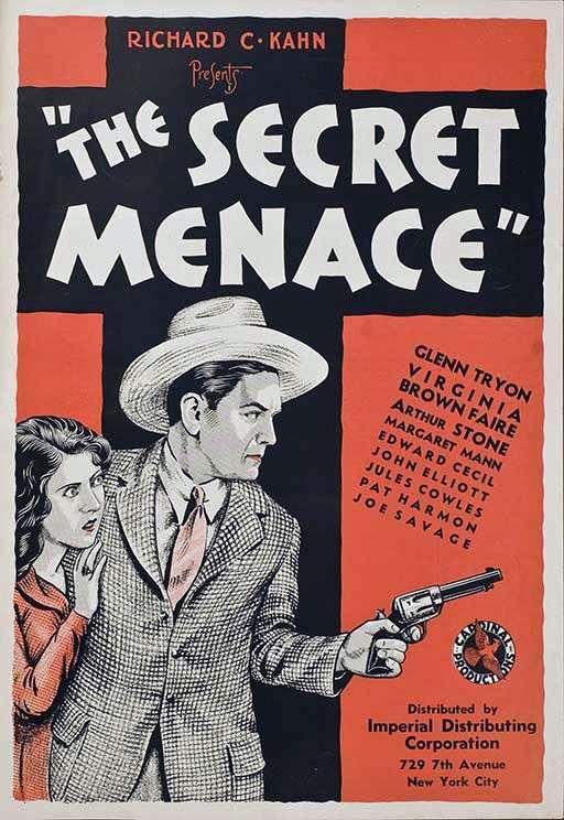 The Secret Menace kapak