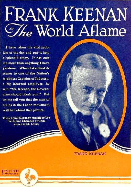 The World Aflame kapak