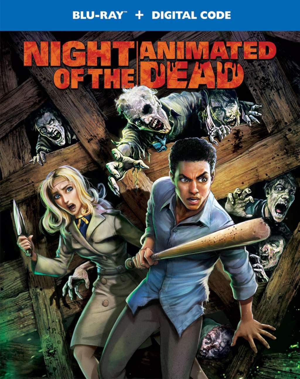 Night of the Animated Dead kapak