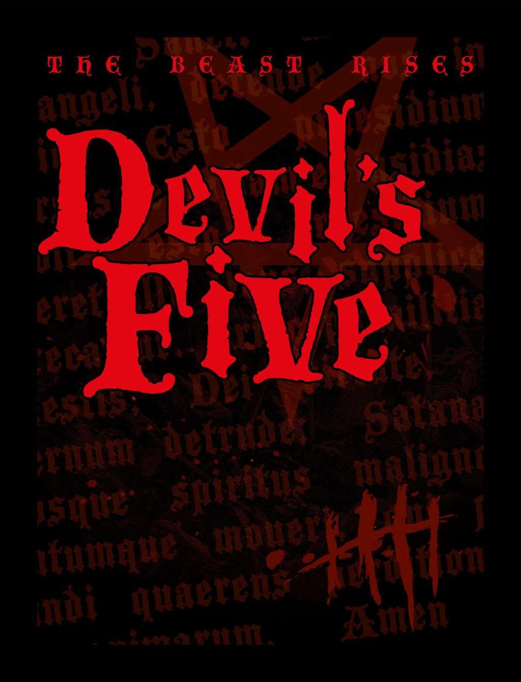 Devil's Five kapak