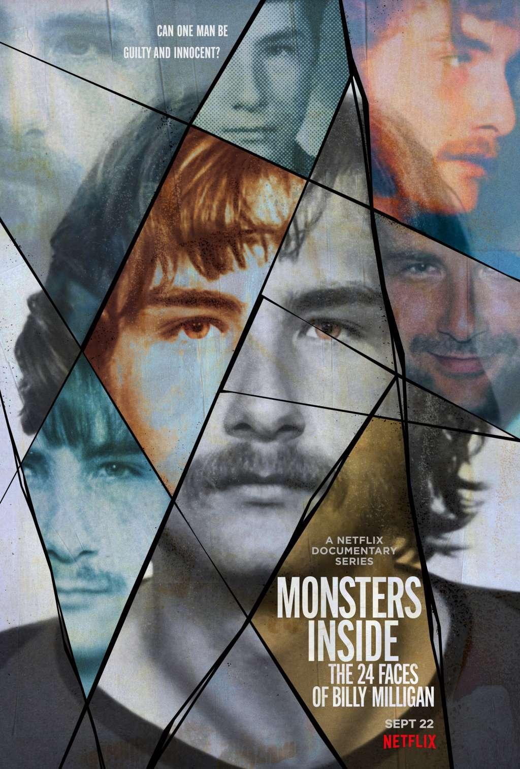 Monsters Inside: The 24 Faces of Billy Milligan kapak