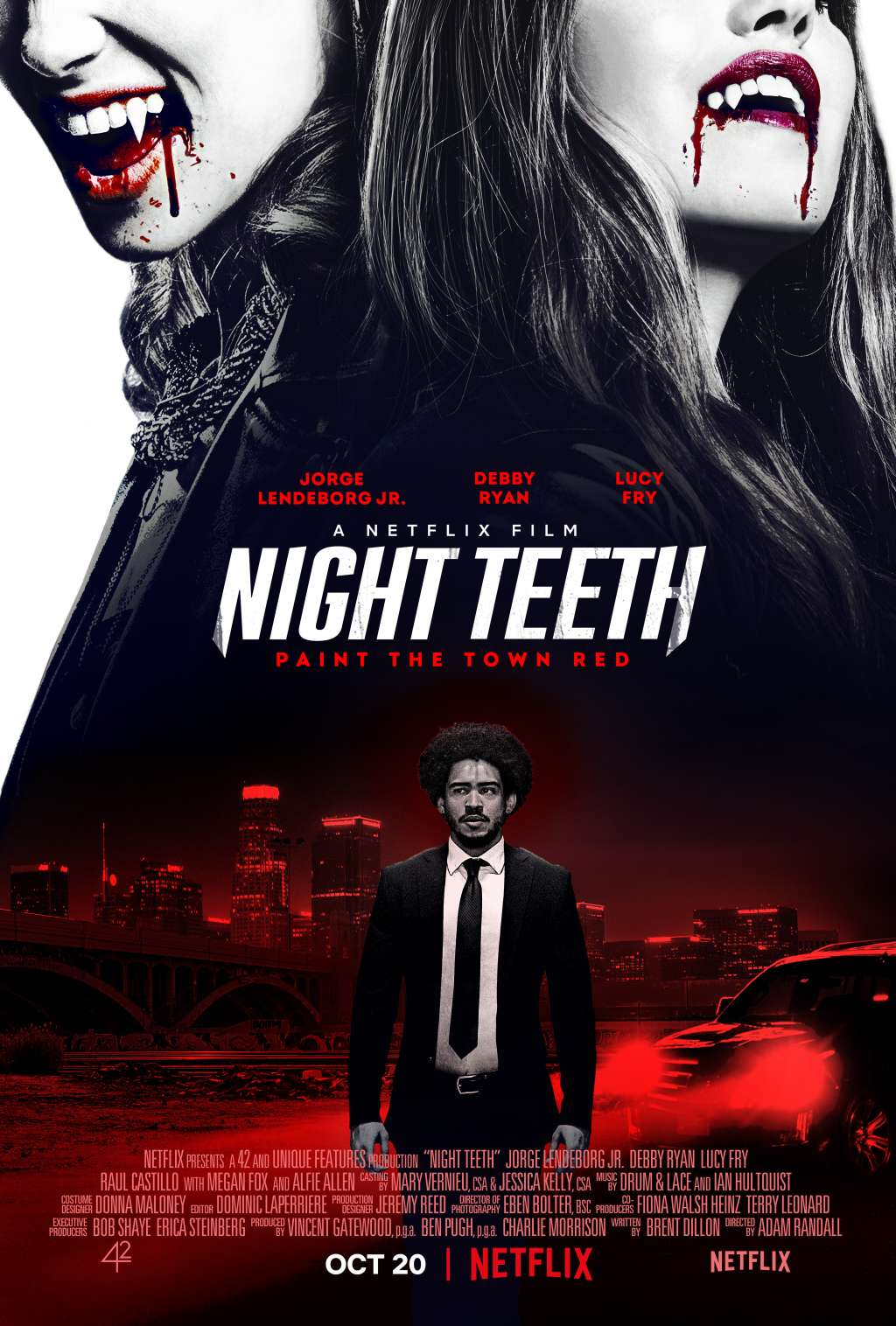 Night Teeth kapak