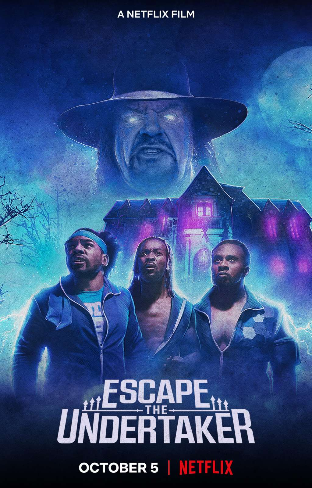 Escape the Undertaker kapak
