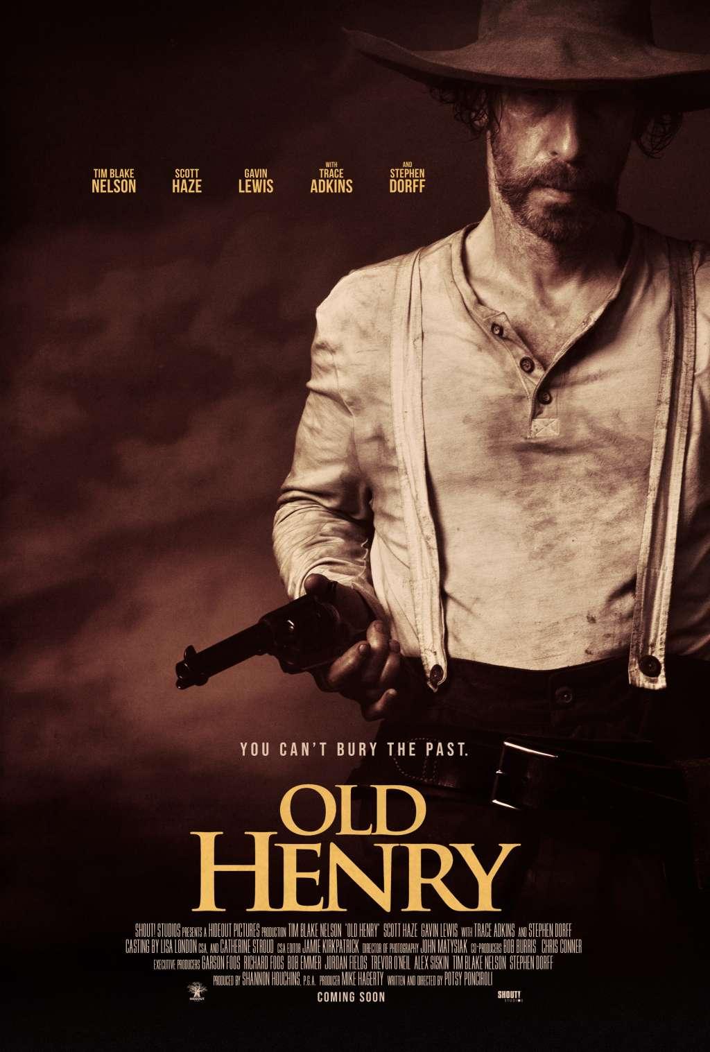 Old Henry kapak