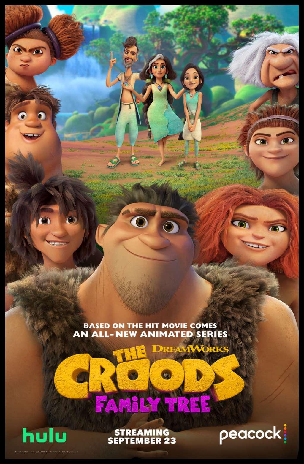 The Croods: Family Tree kapak