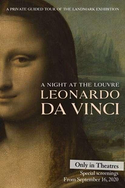A Night at the Louvre: Leonardo da Vinci kapak