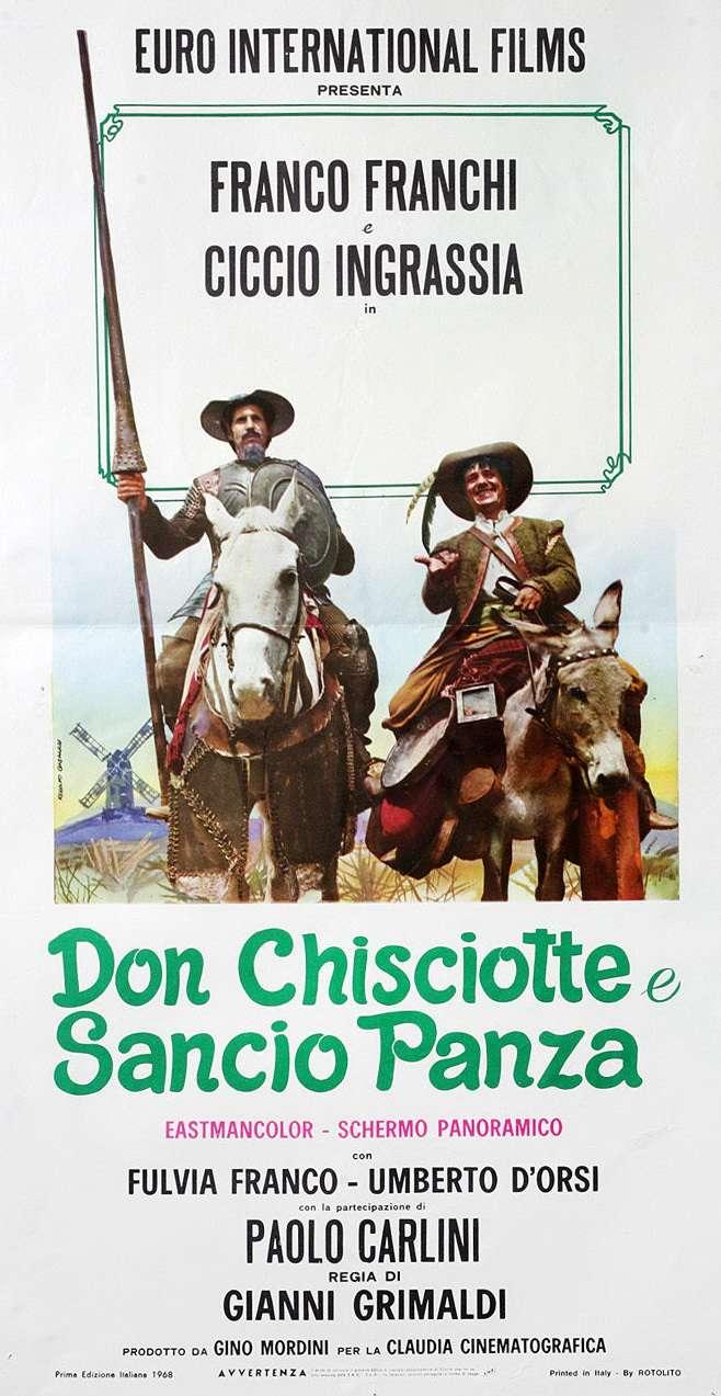 Don Chisciotte and Sancio Panza kapak