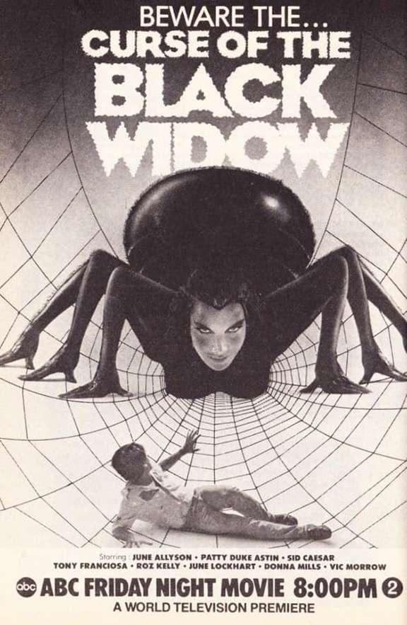 Curse of the Black Widow kapak