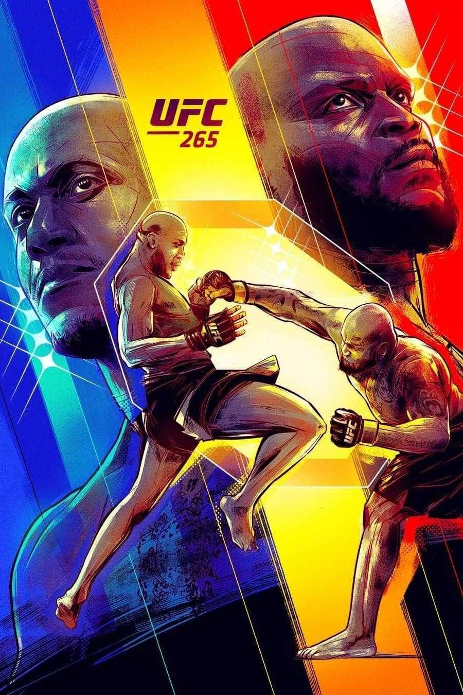 UFC 265: Lewis vs. Gane kapak
