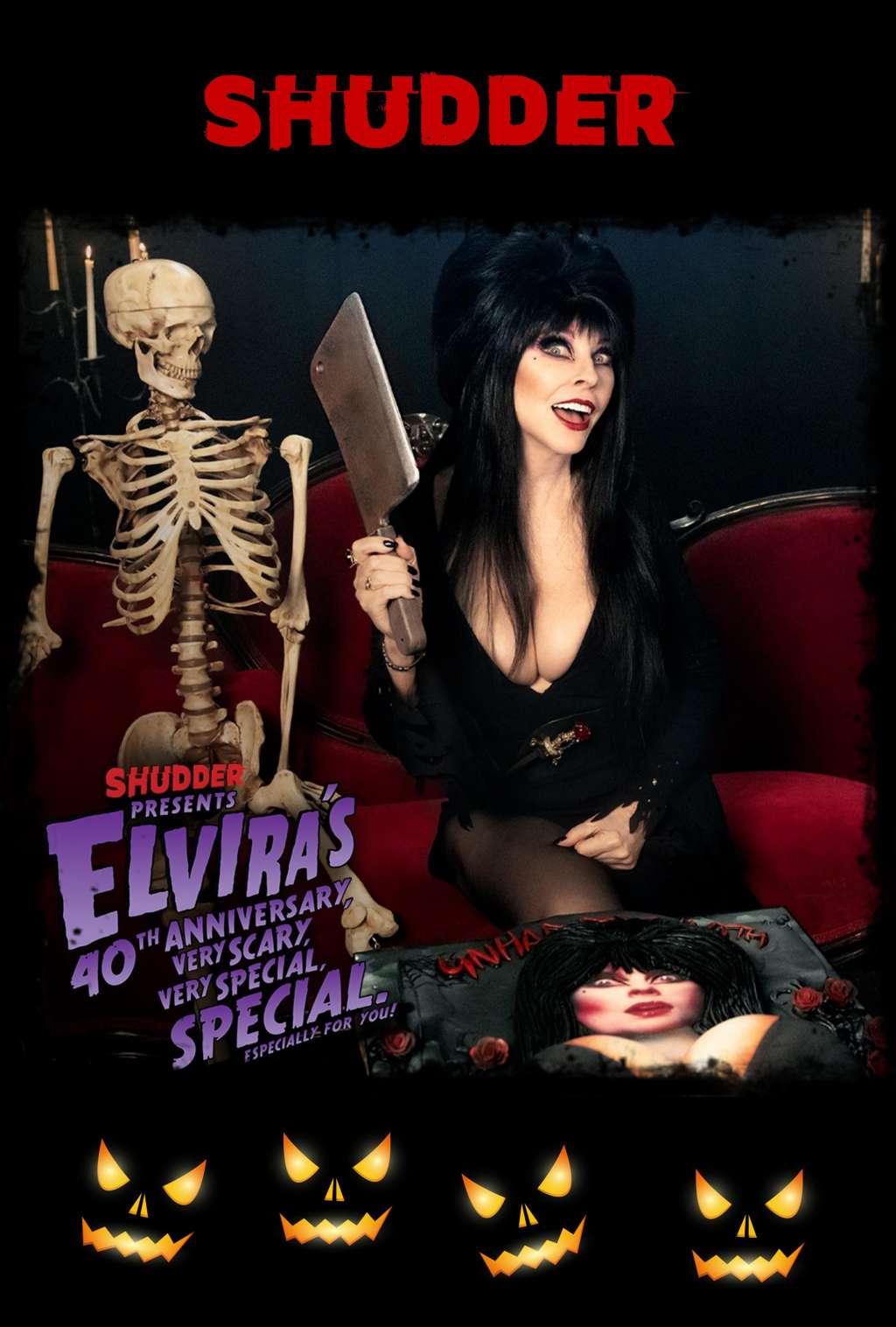 Elvira's 40th Anniversary, Very Scary, Very Special Special kapak