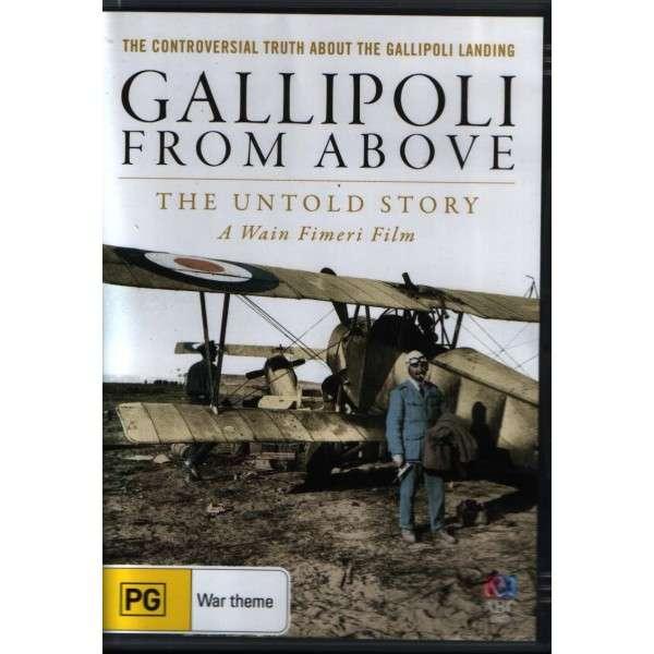 Gallipoli from Above kapak