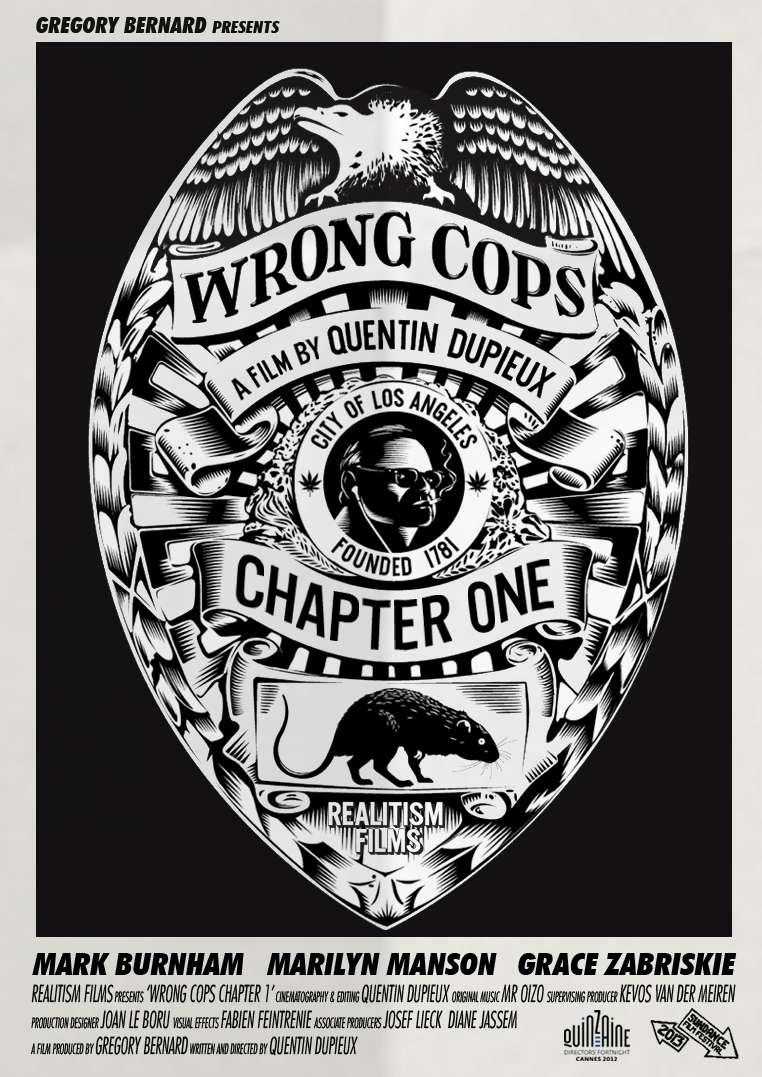 Wrong Cops: Chapter 1 kapak