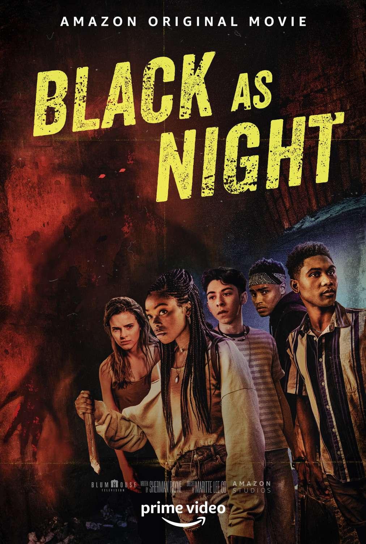 Black as Night kapak
