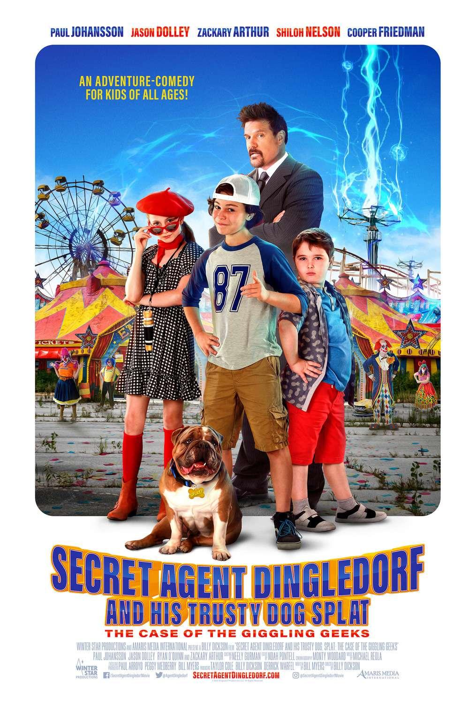 Secret Agent Dingledorf and His Trusty Dog Splat kapak