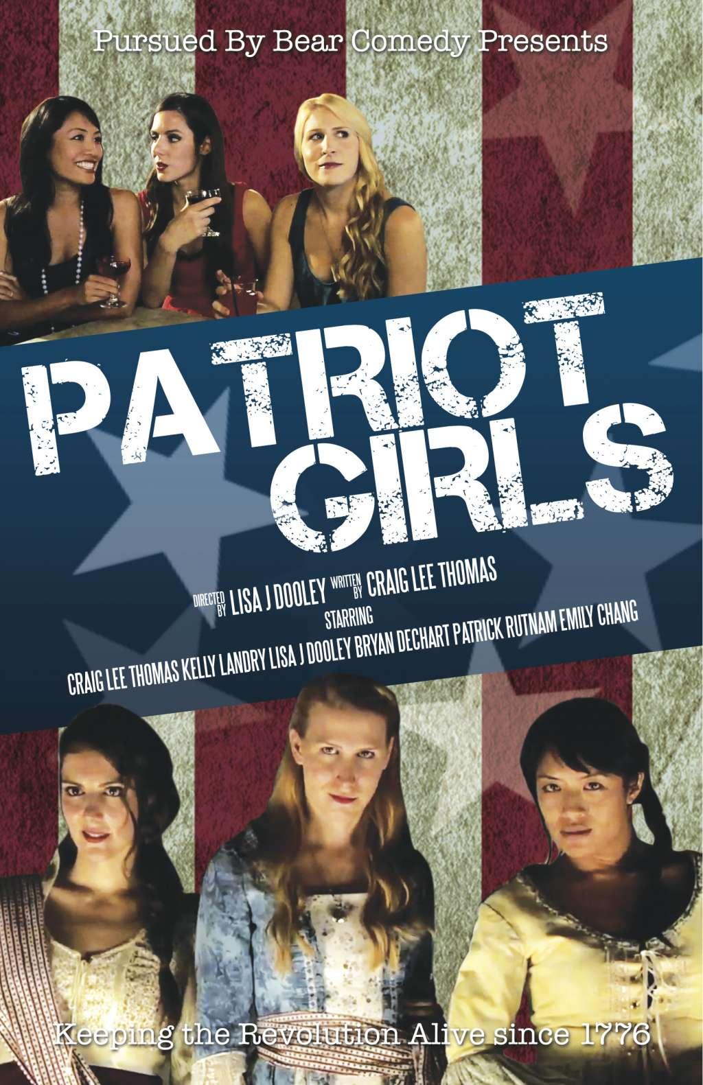 Patriot Girls kapak