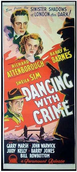 Dancing with Crime kapak