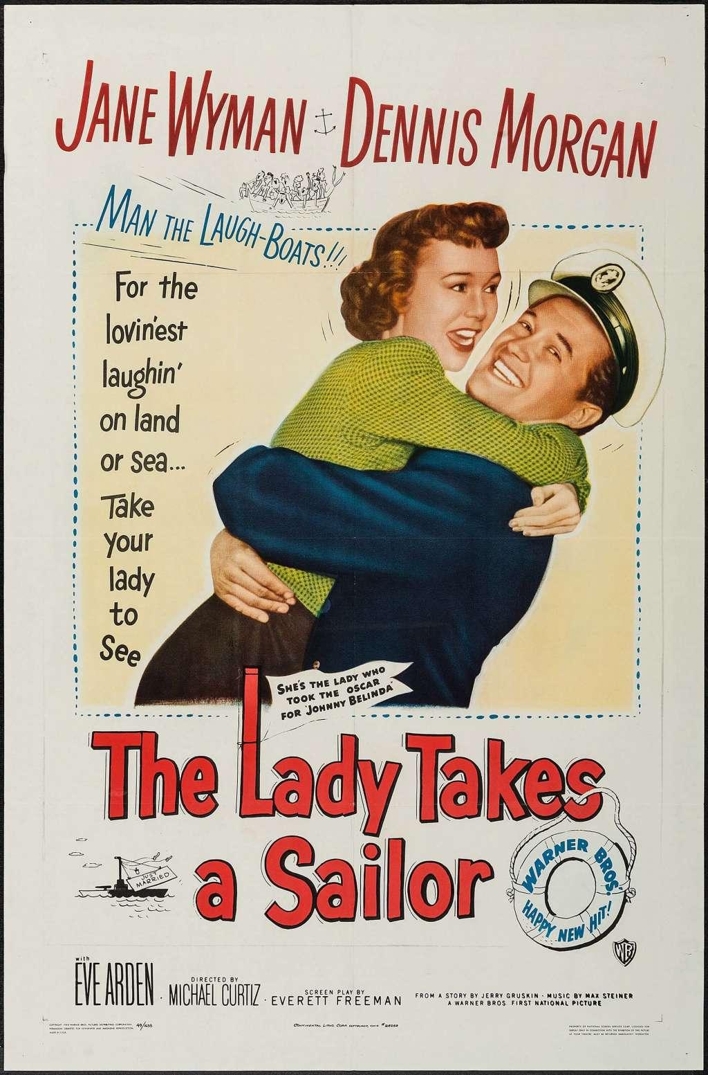The Lady Takes a Sailor kapak