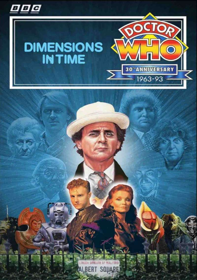 Doctor Who: Dimensions in Time kapak