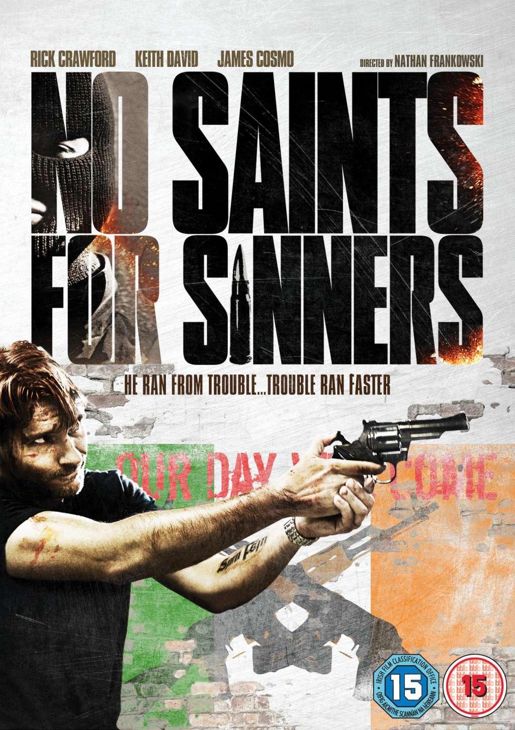 No Saints for Sinners kapak