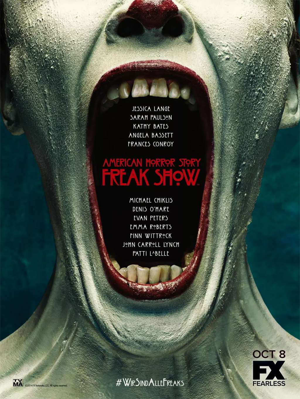 American Horror Story FreakShow: Extra-Ordinary-Artists kapak