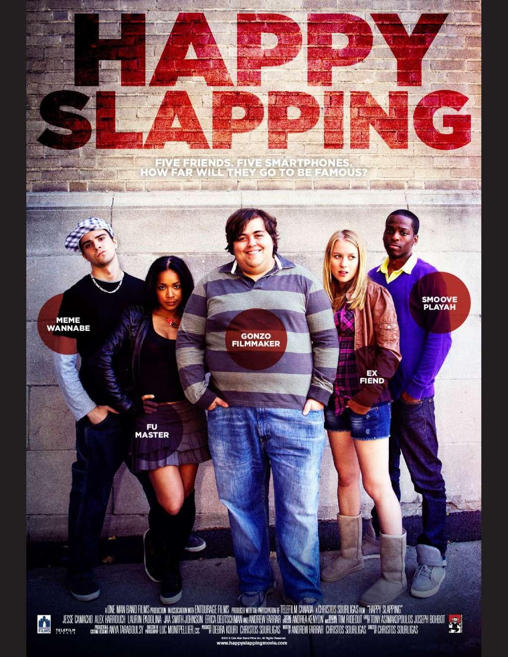 Happy Slapping kapak