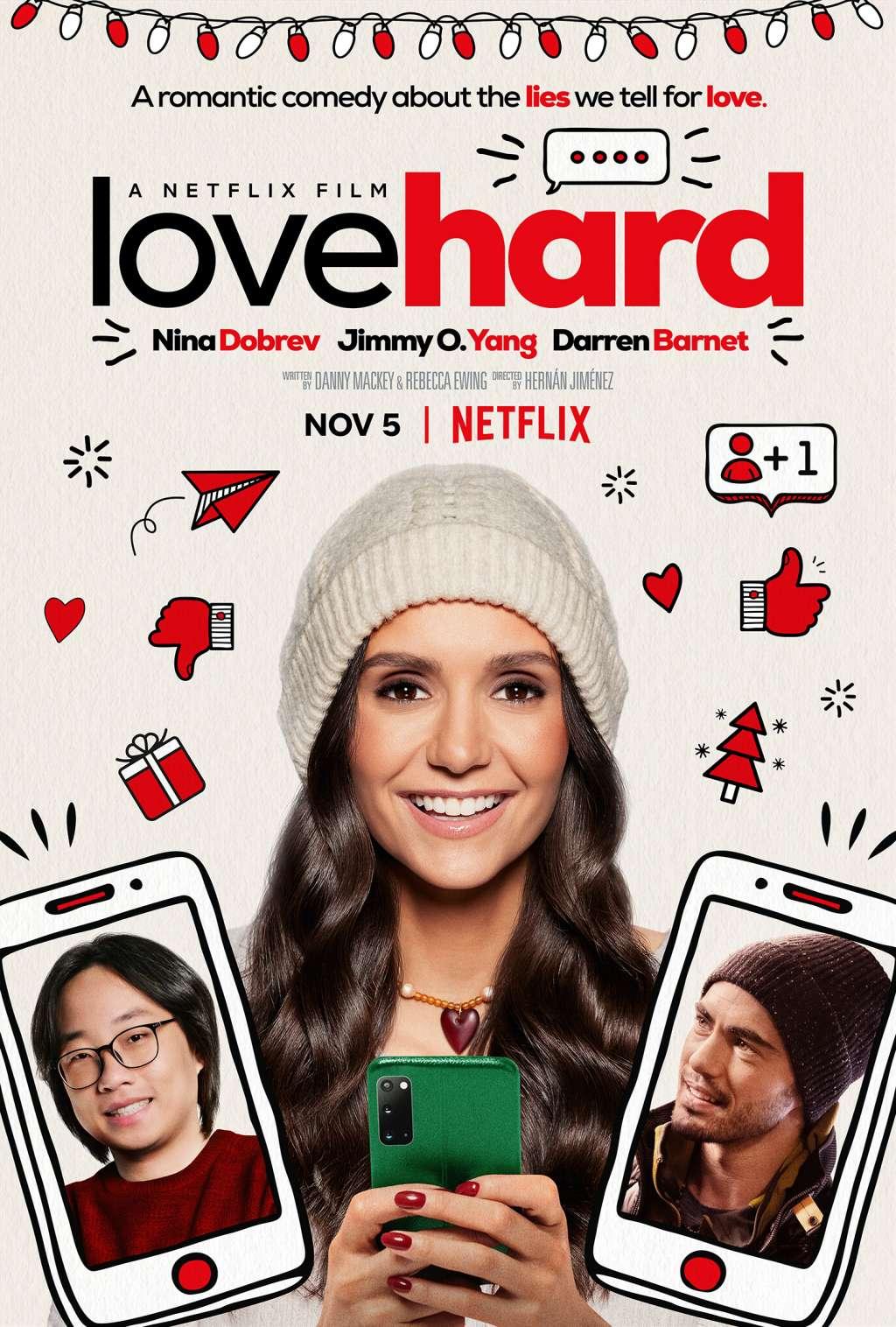 Love Hard kapak