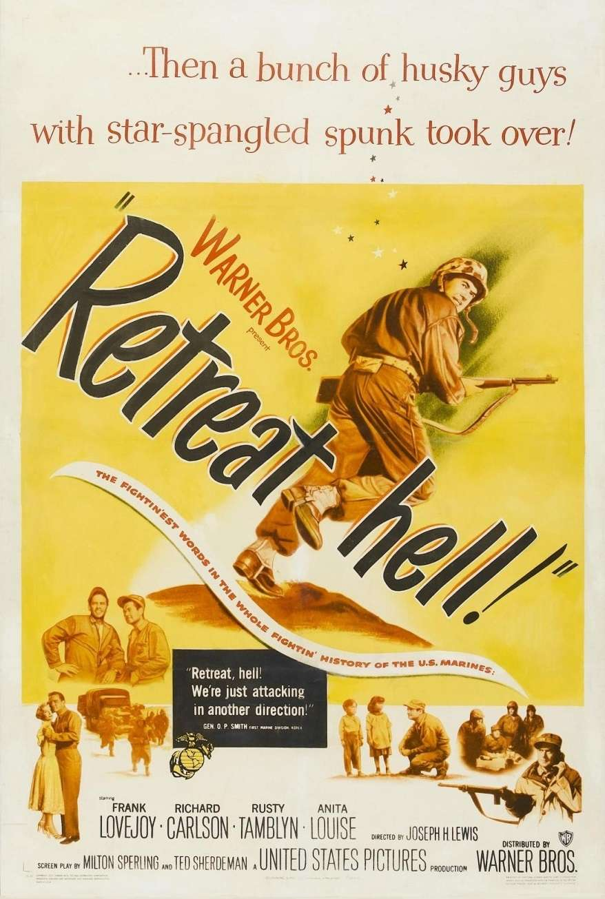 Retreat, Hell! kapak