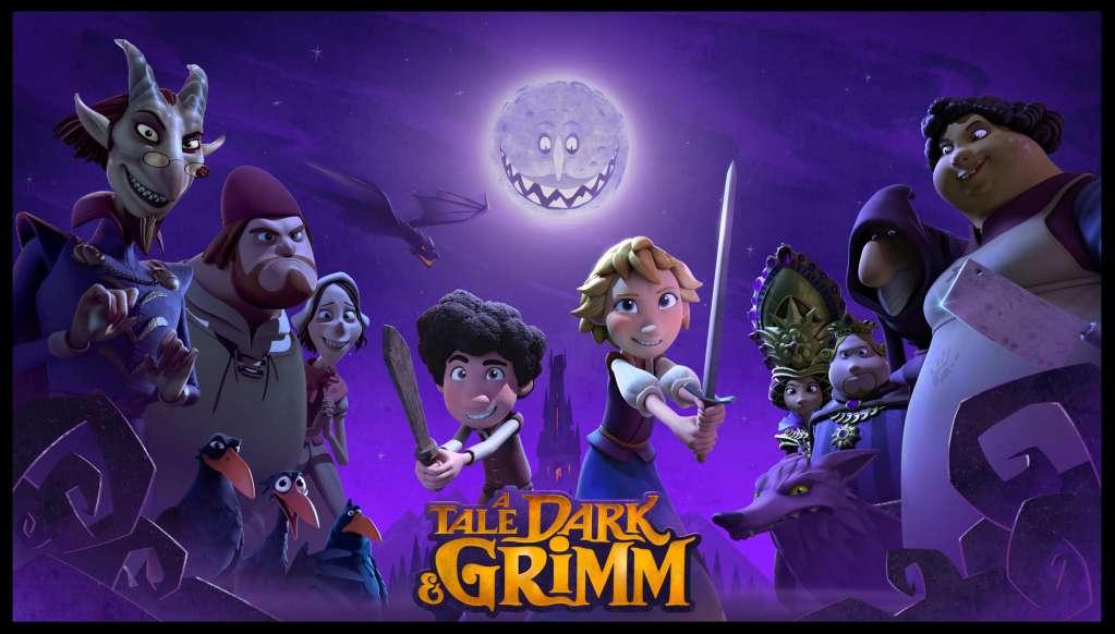 A Tale Dark & Grimm kapak