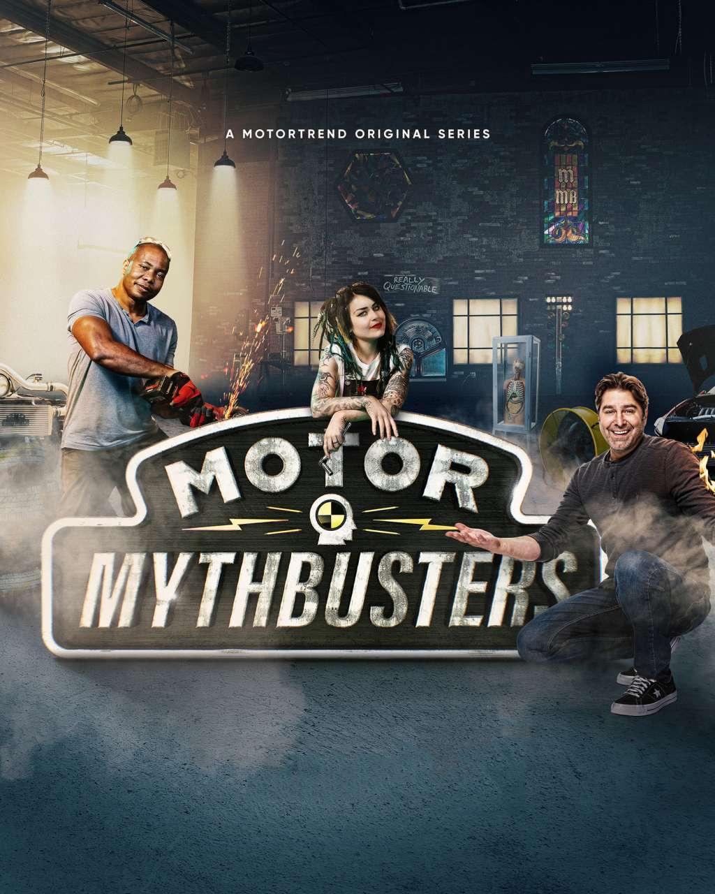 Motor MythBusters kapak