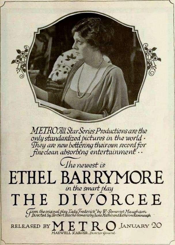 The Divorcee kapak