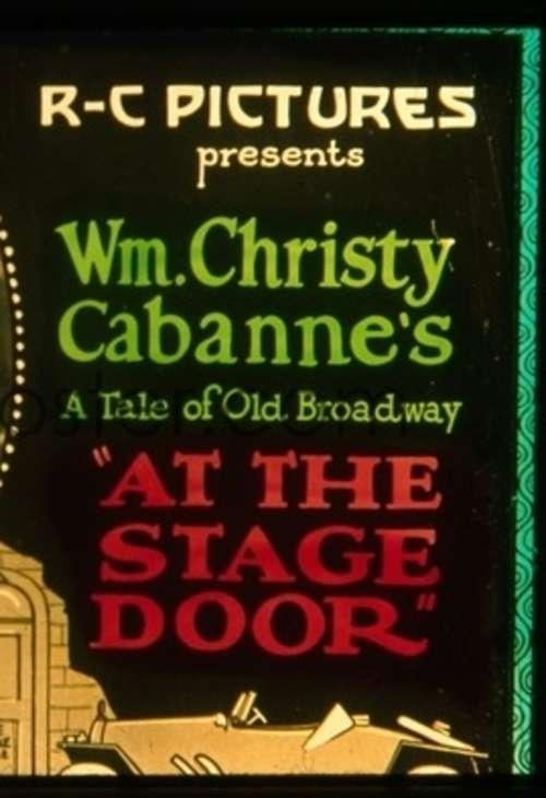 At the Stage Door kapak