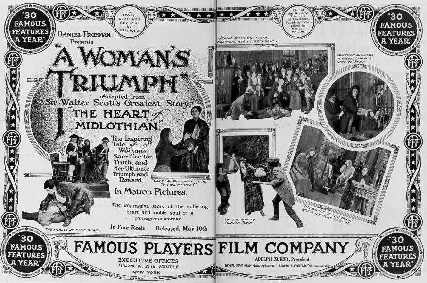 A Woman's Triumph kapak