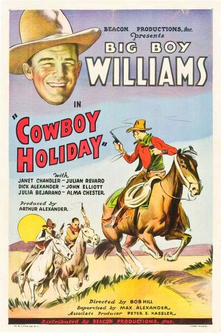 Cowboy Holiday kapak