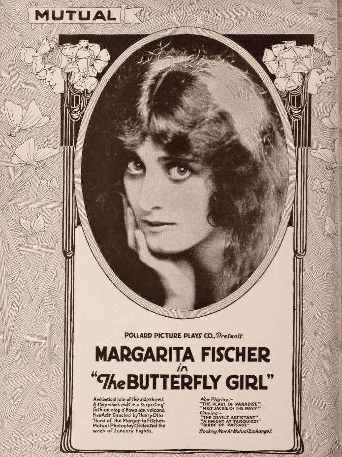 The Butterfly Girl kapak