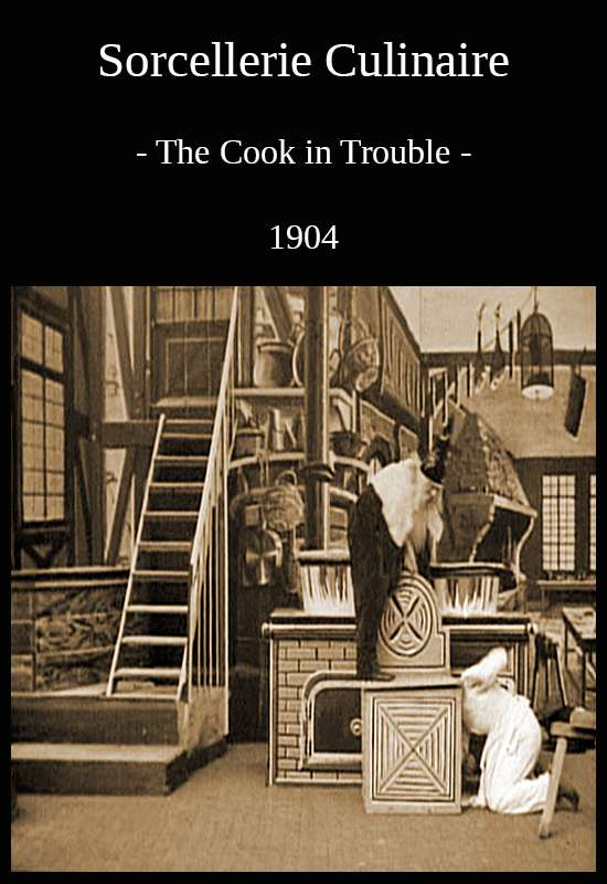 The Cook in Trouble kapak