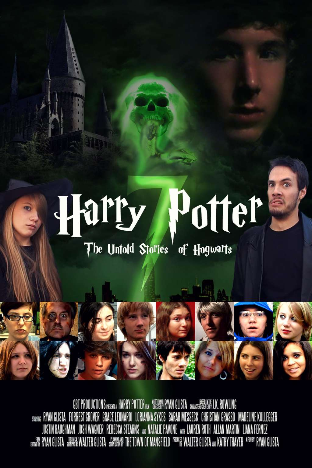Harry Potter and the Untold Stories of Hogwarts kapak