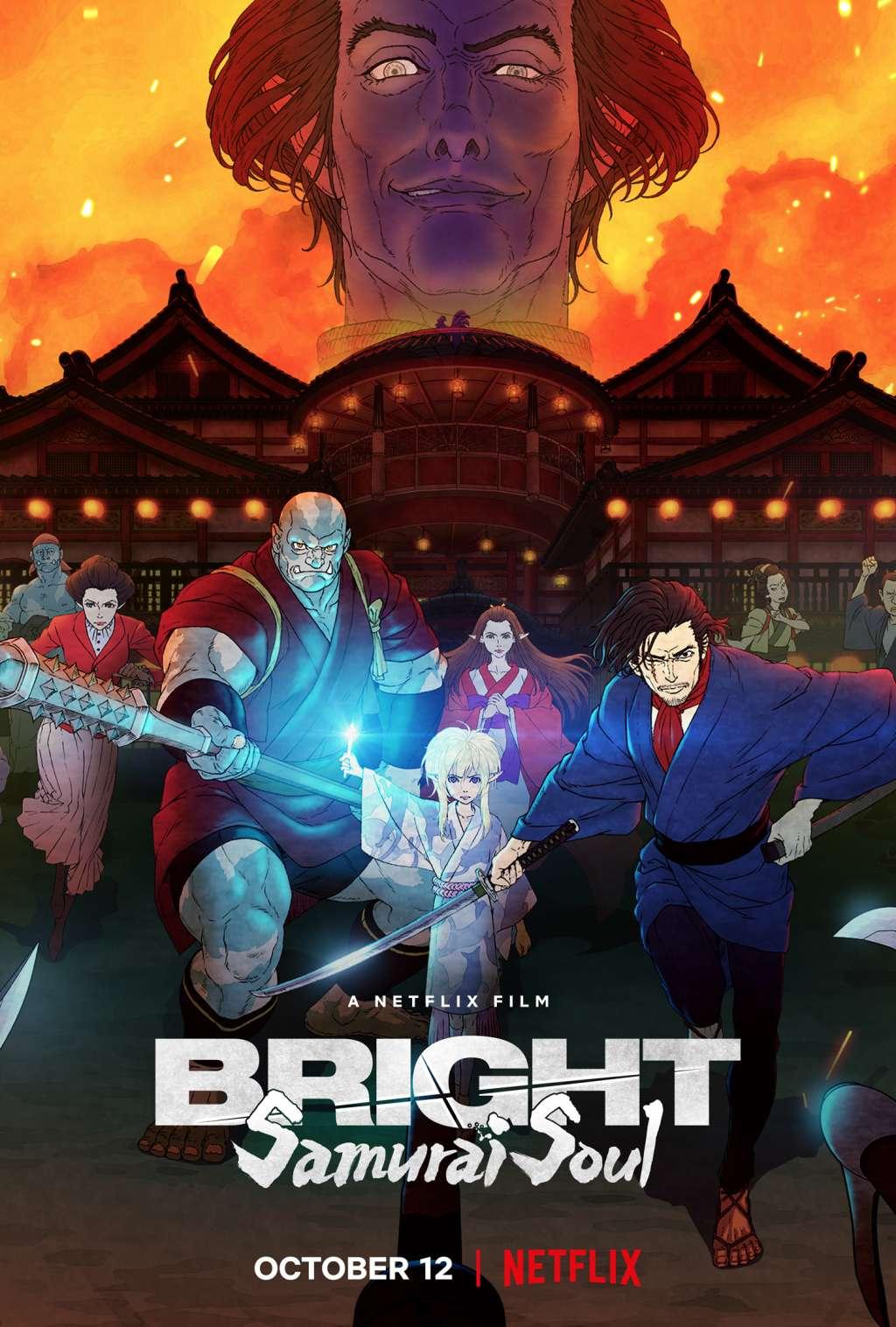 Bright: Samurai Soul kapak