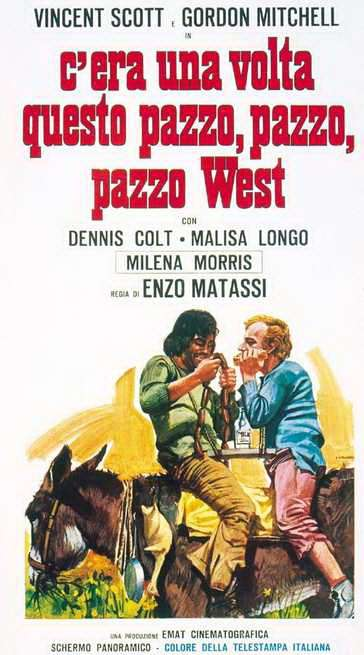 Once Upon a Time in the Wild, Wild West kapak