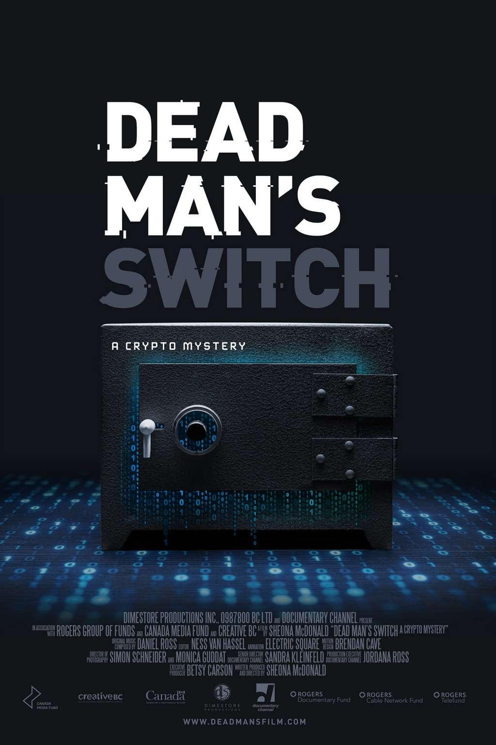 Dead Man's Switch: A Crypto Mystery kapak