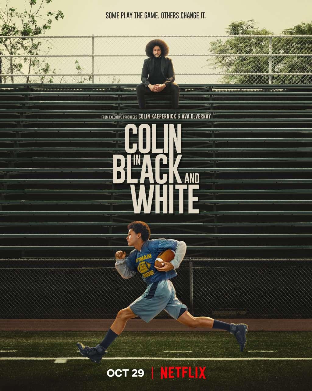 Colin in Black & White kapak