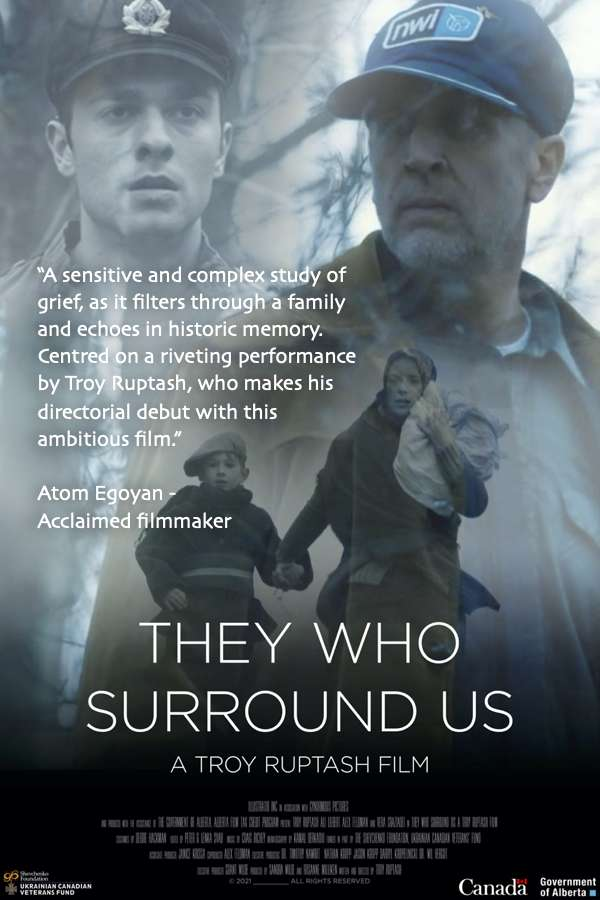 They Who Surround Us kapak