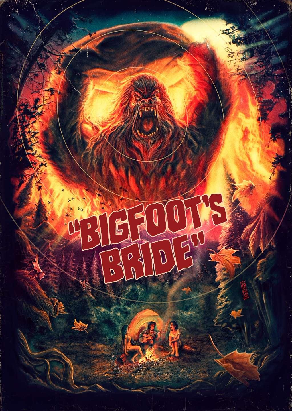 Bigfoot's Bride kapak