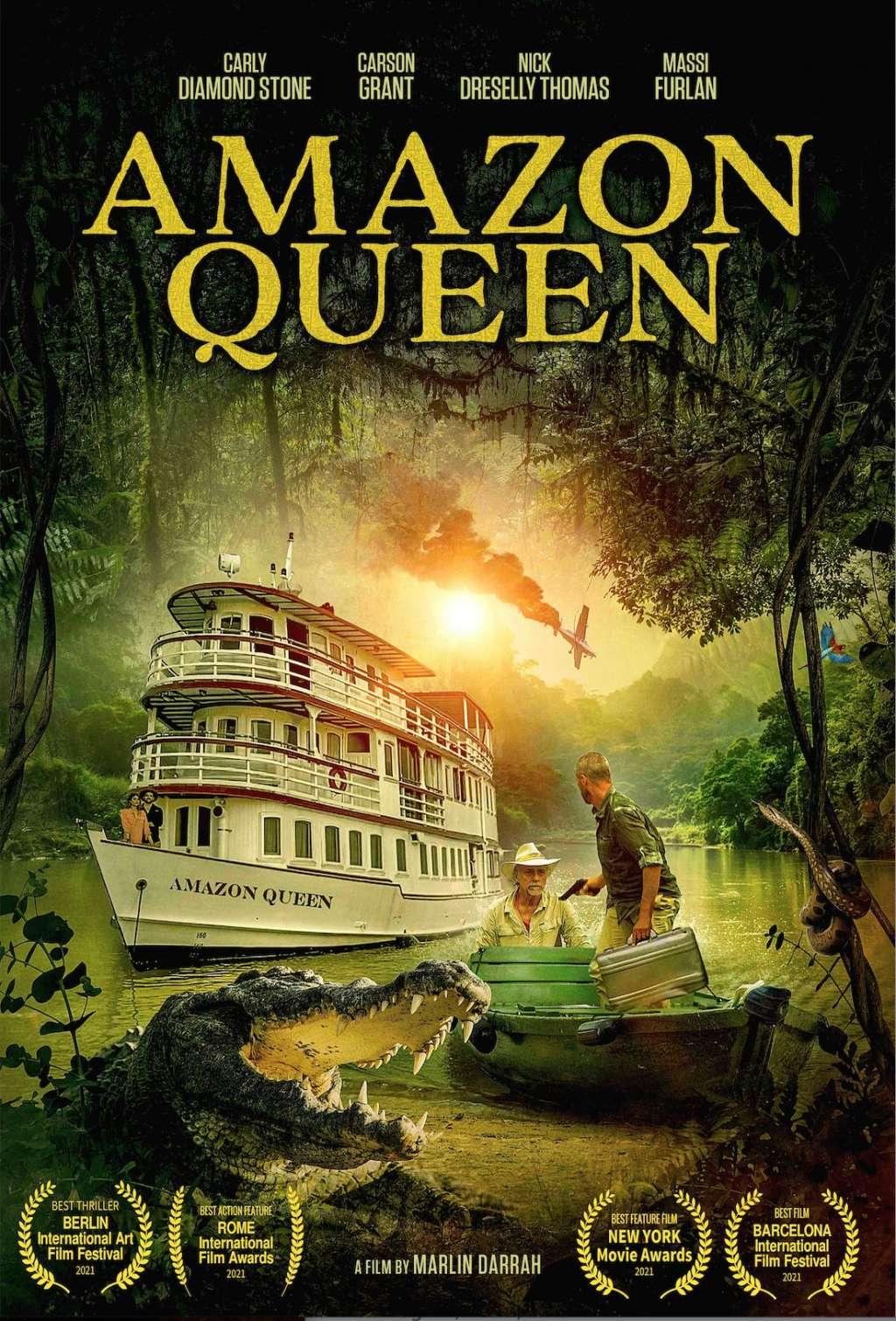 Amazon Queen kapak