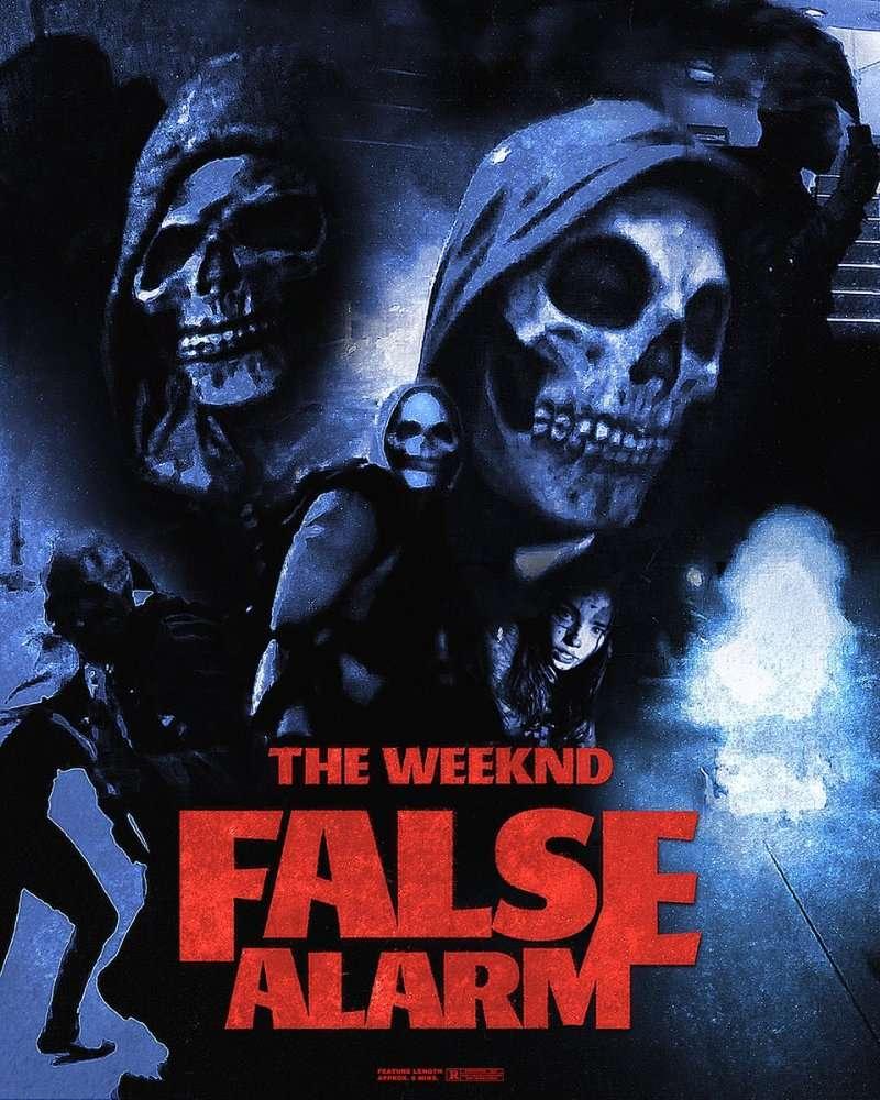 The Weeknd: False Alarm kapak