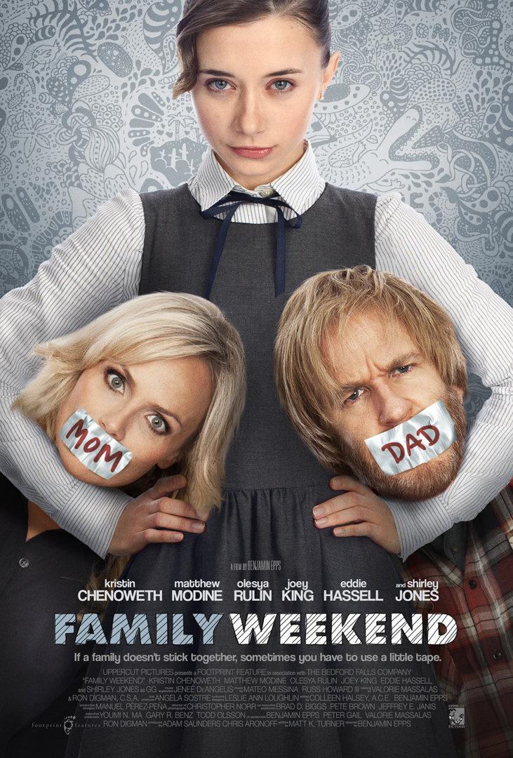 Family Weekend kapak