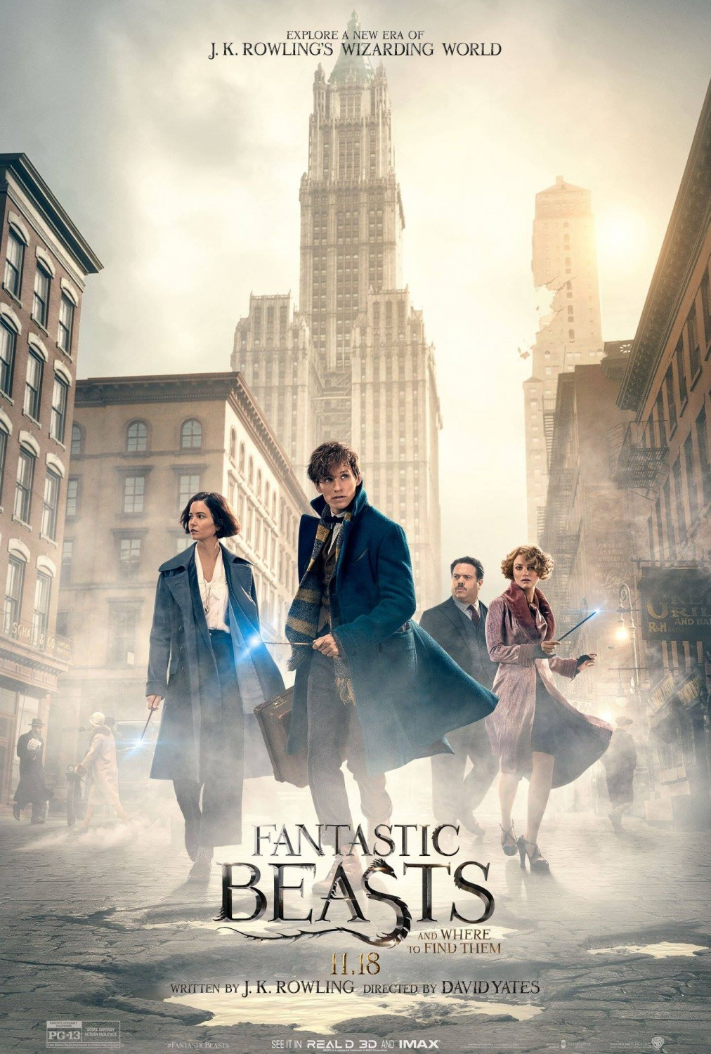 Fantastic Beasts and Where to Find Them kapak