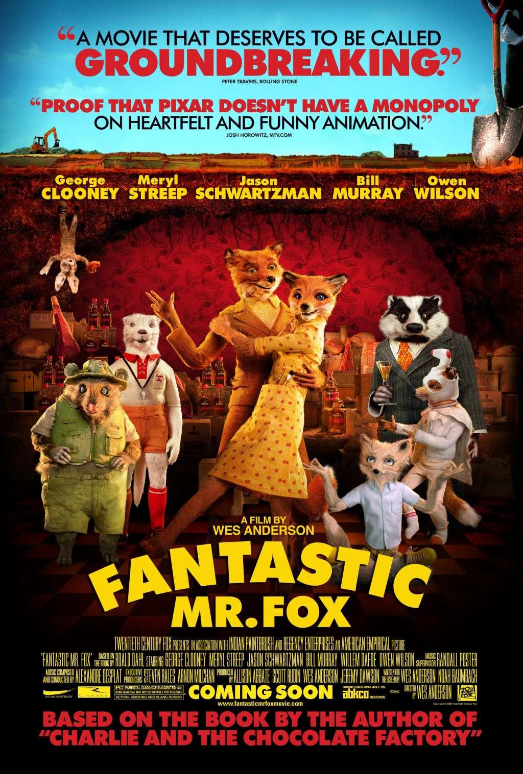 Fantastic Mr. Fox kapak
