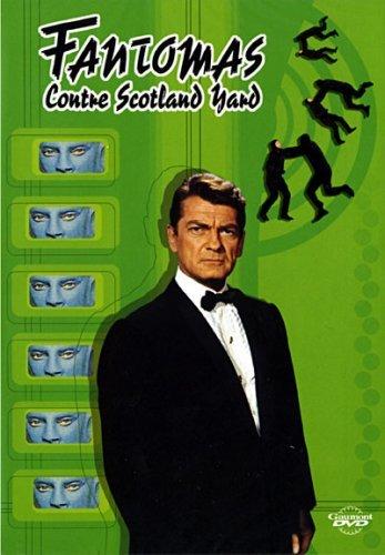 Fantomas vs. Scotland Yard kapak